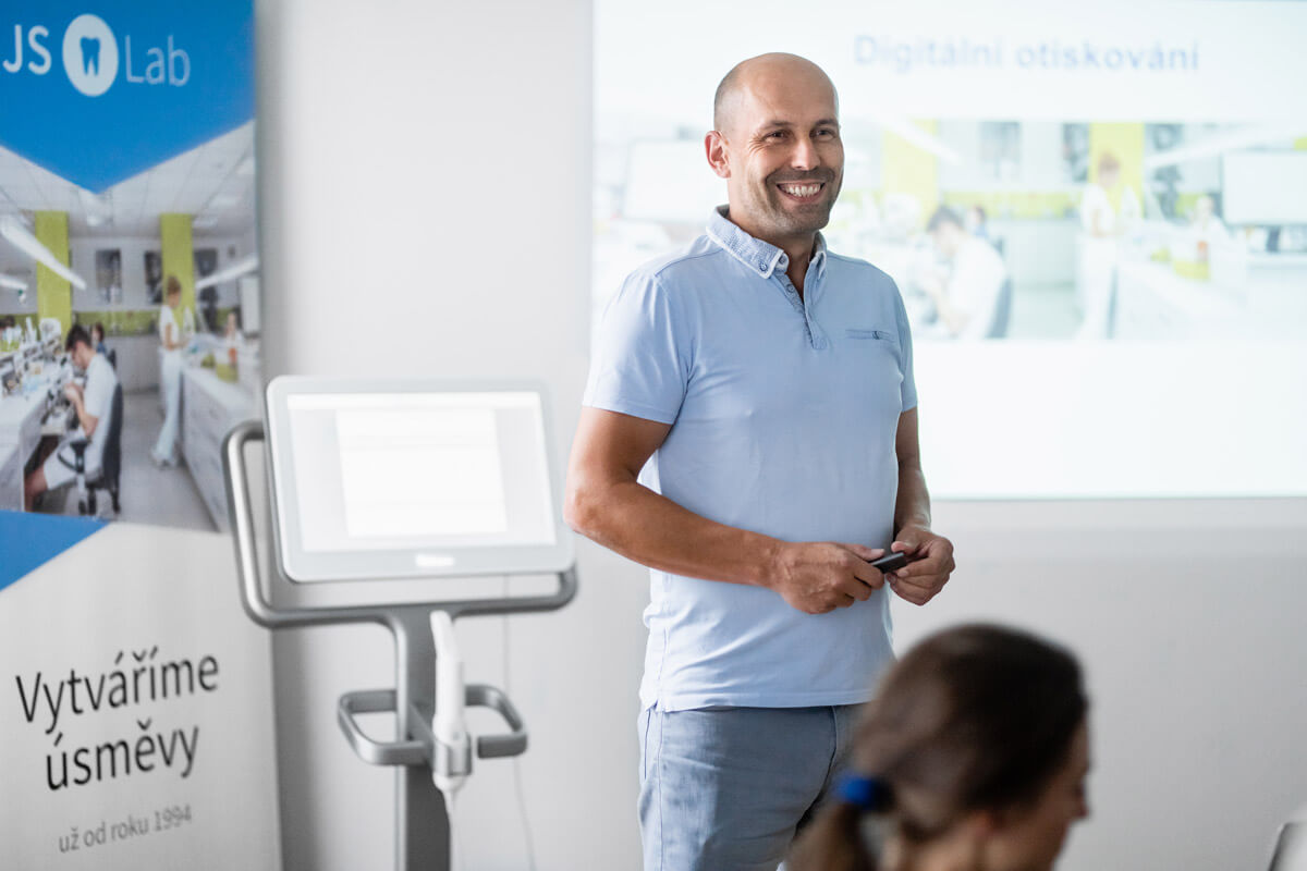 Workshop - digitální otiskování